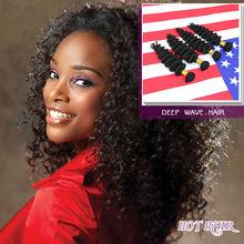 Hot Summer Products Virgin Brazilian Deep Wave Hair,Non Chemical !!!