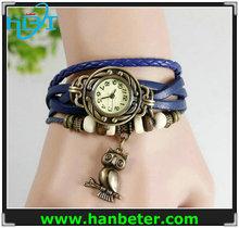 Hotselling children/women/men genuine latest leather japan quartz watch colorful accept paypal