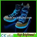 Ra!! độ sáng cao!! Cực ánh sáng linh hoạt el dây dây giày/neon dây/chiếu sáng dây