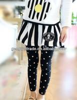 2014 Fancy Design Wholesale Price Girls Winter PantSkirt