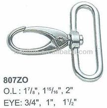 Model No. 807ZO swivel loop eye snap hook