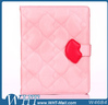 Wholesale Lips Design Leather Case Cover for iPad 234,High Quality