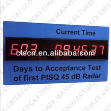 Original Design LED Days Countdown Clock