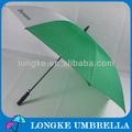 di alta qualità automatico verde aperto ombrello da golf con manico in eva ombrello promozionale