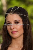 Indian Wedding Hair Accessories, Accessories Hair Accessories,Rhinestone Hair Decoration Jewelry (SWTHCLL001)
