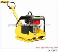 Diesel hydraulic reversible plate compactor