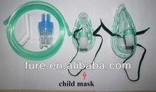 Hospital home use Pediatric Nebulizer High quality aerosol mask nebulizer kit