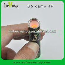 New in market G5 camo JR 2013 Portable Dry Herb Electronic Vaporizer vapor device