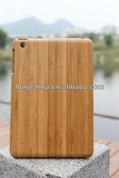 New Arrival Wood Bamboo Cases For iPad Mini Custom Design Accept
