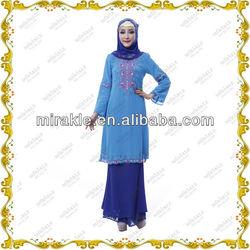 MF20958 2014 new season fashion baju kurung design