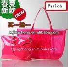 Solid nylon mesh bag for shopping