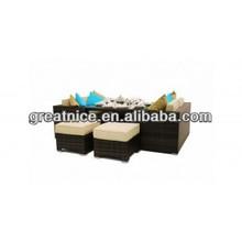 Sofa set Rattan Furniture - Sofa / Cube Set