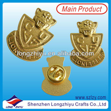 Unique Custom 3D Metal Badges/Emblems/Insignia For Jacket Collection