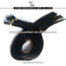 ZSY 2014 hot sale high quality pre bond i tip hair