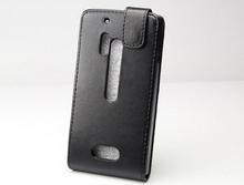 Cheapest Black Flip PU Leather Case for Nokia Lumia 928
