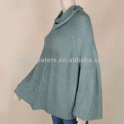 Knit sweater shrug