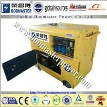 5Kva portable home power electric generating diesel