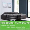 poltrona em forma de l itália sofá de couro bicast 2856