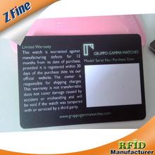 Brand New Photo ID plastic pvc Card in shenzhen