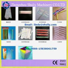 plastic drink straw making machine / 2013 Newest Plastic drinking straw production line/ skype : shuliy0228