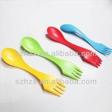 plastic fork spoon combination