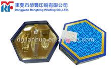 Fine custom sun screen lotion packaging box