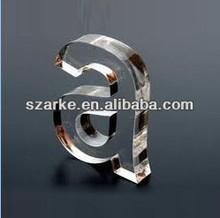 Individual Acrylic Rising cutting Letter, acrylic letter, acrylic logo sign