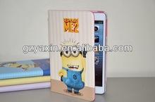 3D silicon animal case for ipad mini,super quality OEM case for ipad mini case