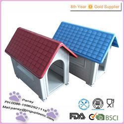 hot sale plastic unique folding house dog
