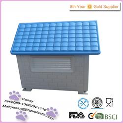 hot sale plastic unique folding flat roof dog house