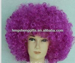 fans Halloween Christimas party purple wig