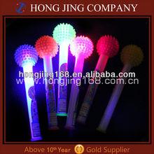 led message ball stick,led flashing ball stick,light up ball stick