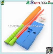 Soft kid's Toy rubber foam inflatable baseball bat mini baseball bat