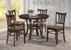 Round Table, wooden dining set, dining room set, dining table,