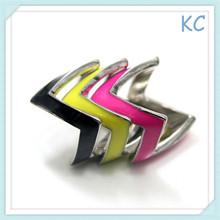 Wholesale Fashion Bohemian Personality Color Ring Set