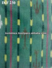 indian cotton Ikat fabric bags