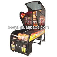 indoor arcade hoops cabinet basketball game