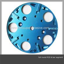 PCD and bar segment metal bond diamond grinding disc
