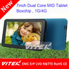 Factory made 7'' china no brand tablet pc