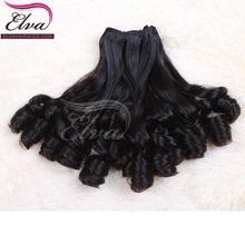 cheap wholesale factory price 5a grade 100% sexy romance aunty funmi virgin new star meril spring bohemian curl human hair weave