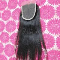 6A grade virgin remy hair low price brazilian straight lace closure virgin hair