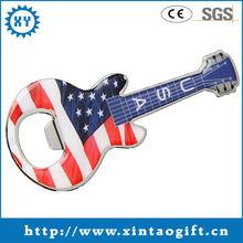 2014 Cheap Metal Guitar Shape Bottle Opener of China Craft Supplier