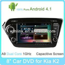 "8"" Android 4.1 Capacitive Screen Free Wifi 2012 Kia Rio Radio"