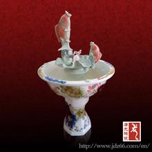 ceramic hand painted porcelain ornaments fish