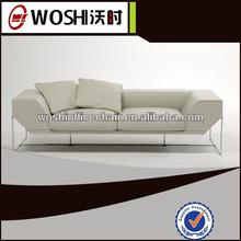 Best popular single white recliner chesterfield sofa
