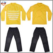 new model football jerseys for goalkeeper,kids custom goalkeeper football suits,china manufaturer children goalkeeper jersey