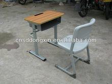 New design single school desk KZ77