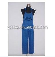 100% cotton twill bib pants/trousers/work wears
