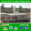 K style fast build steel frame low prices prefab build portable prefabricated wood building