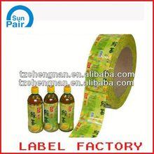 warranty label sticker
